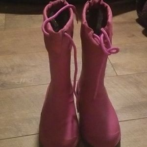 Other - Pink Snowboots/Rainboots